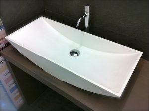 Lavabo in Aquatek 80 x 35 cm