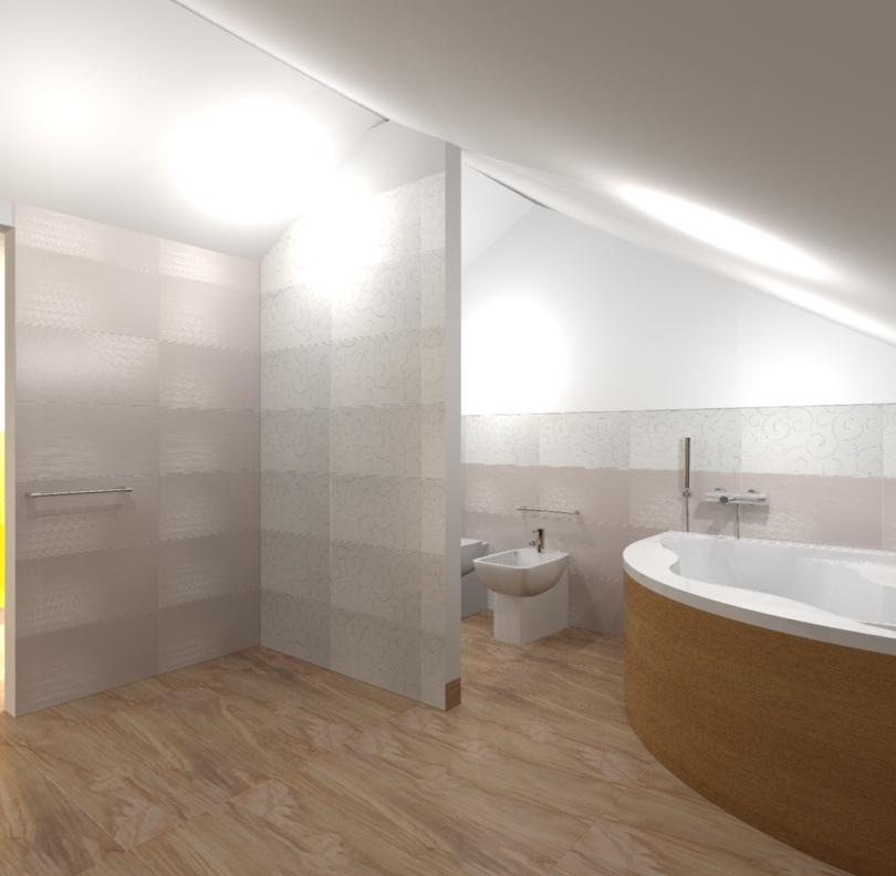 Progetto bagno in mansarda edilcom fancelli - Bagno in mansarda ...