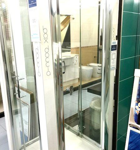 Offerta chiusura doccia samo porta a battente edilcom fancelli - Porta doccia samo ...