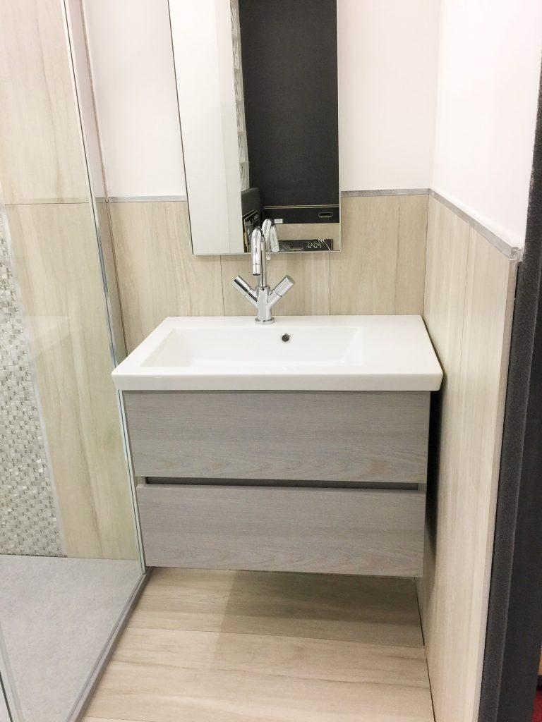 Offerta mobile ideale per bagno di piccole dimensioni edilcom fancelli for Arredo bagno piccole dimensioni