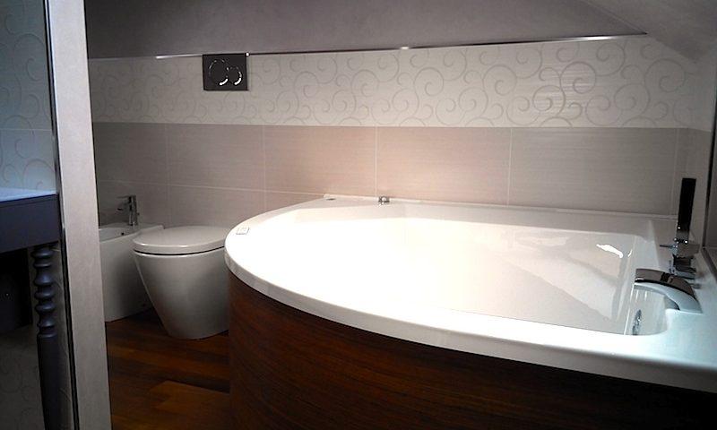 Progetto bagno in mansarda edilcom fancelli